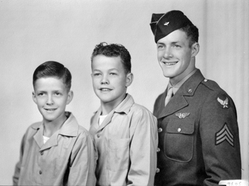 James Vaughn and his brothers.