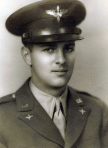 Harold E Greenberg as a cadet during WWII before going to the CBI.